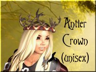 TTS Antler Crown